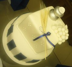 Celebrations in the Catholic Home: First Holy Communion idea for boys - royal blue and white and silver!