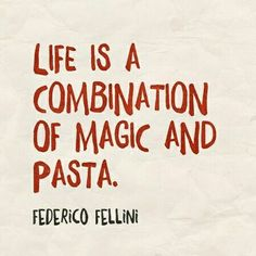 Fellini docet