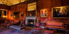 syon green drawing room interior - Google Search