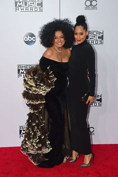 Tracee Ellis Ross and Diana Ross. Learn more about them and 25 other gorgeous celebrity mother-daughter pairs.
