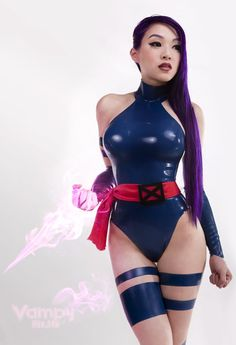 Psylocke Cosplay check out our website: www.comicaddictz.com and be sure to like Us on facebook www.facebook.com/ComicAddicTz