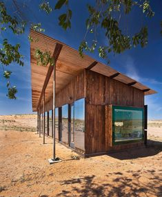The Nakai residence in the middle of the desert, constructed for Lorraine Nakai - CAANdesign http://www.caandesign.com/nakai-residence-middle-desert-constructed-lorraine-nakai/?utm_content=bufferc1247&utm_medium=social&utm_source=plus.google.com&utm_campaign=buffer