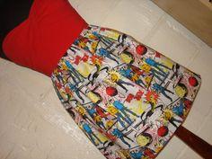 Star Trek skirt for Chelle's hen do