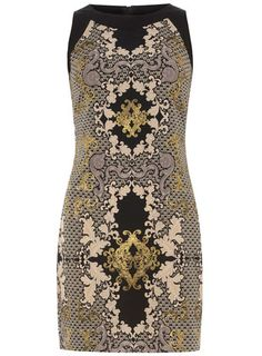 Navy baroque shift dress- maybe just one piece of clothing? and a date to go along?? :-)
