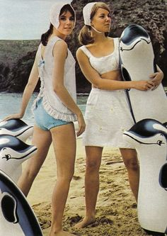 1967 Beach Wear