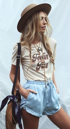hippie girl summer outfit