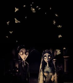 Corpse Bride the loving dead and the living