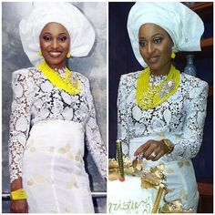 #NWglam: 20 Super Gorgeous Aso-Ebi Styles, That Are Hot Right Now! | Nigerian Wedding