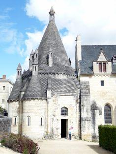 Fontvraud Abbey, Loire Valley, France - photo by @Marilyn McFarlane