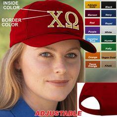 Chi Omega Sorority Caps