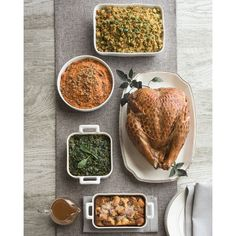 Hickory-Smoked Turkey Breast Meal ($225) ❤ liked on Polyvore featuring home and kitchen & dining