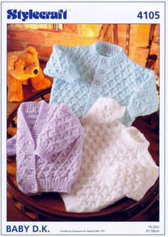 Gorgeous textured knits!