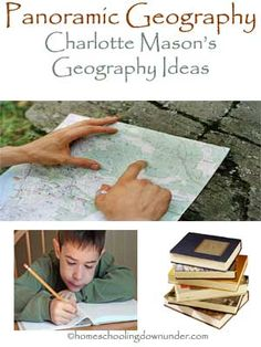 The Panoramic Method of Geography – Charlotte Mason
