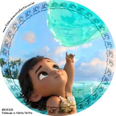 Moana Baby Cupcakes: Free Printable Wrappers and Toppers. Moana Themed Party, Moana Birthday Party, Moana Party, 2nd Birthday Parties, Cupcakes Moana, Moana Cupcake, Cute Wallpaper Backgrounds, Disney Wallpaper, Festa Moana Baby