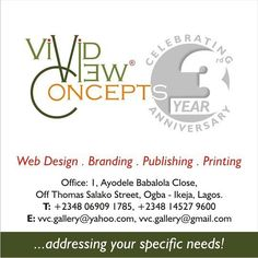 3 good years of serving you we say a BIG THANK YOU for giving us that privilege. Love from all of us @ Vivid-View Concepts.