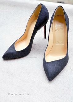 veryverve: Christian Louboutin shoes Corneille pumps. Winner pointed toe style.