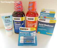Stock Your Medicine Cabinet with Wellness Products from Dollar General - The Classy Chics #AD