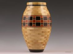 No. 376  Vessel Wood Segmenting Woodworking Arts and