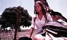 Jenny Agutter in the cult classic Walkabout (1971).