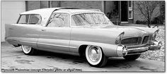 1955 chrysler station wagon | next show car took a different twist — it was a station wagon ...