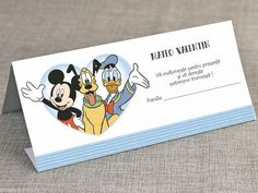 Mapa bani Mickey, Pluto and Donald 5723 Mickey Mouse, Disney, Cots, Character, Baby Mouse, Disney Art