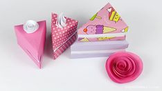 Paperized: Origami Cake Slice Box