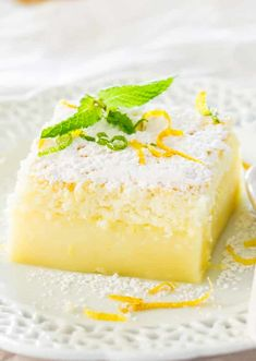 Lemon Magic Cake - Jo Cooks