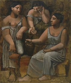 Pablo Picasso. Three Women at the Spring. Fontainebleau, summer 1921