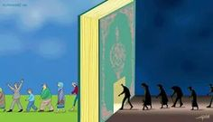 What qur'an does is actually it takes you from darkness into the light