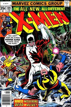 X-Men #109 cover by Dave Cockrum. One of the great X-Men artists of the past.