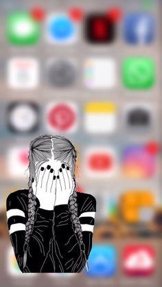 Molto be la fo to gra dia che Cia ve te meso Cute Emoji Wallpaper, Funny Iphone Wallpaper, Chic Wallpaper, Mood Wallpaper, Cute Disney Wallpaper, Cute Wallpaper Backgrounds, Tumblr Wallpaper, Pretty Wallpapers, Cellphone Wallpaper