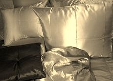 Satin Bedding, Home, Ad Home, Homes, Haus, Houses
