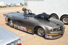 Ford Mustang sportsman drag car