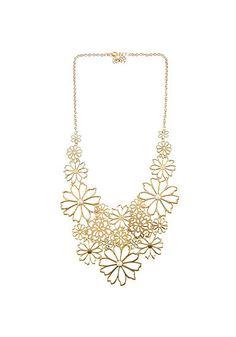 Floral Pendant Necklace