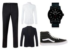 Untitled #6 by angielover15 on Polyvore featuring polyvore, Brunello Cucinelli, Ted Baker, Burberry, Vans, Nixon, men's fashion, menswear and clothing