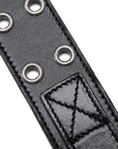 (サンローラン) SAINTLAURENT アイレット ベルト 95 BLACK 329247 BOG0H 1000 [並行輸入品] : 服&ファッション小物通販   Amazon.co.jp