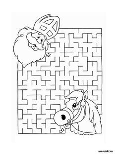 Projects For Kids, Art Projects, Dutch Store, Advent, Theme Noel, Saint Nicholas, Maze, Coloring Pages, Activities For Kids