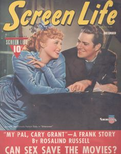 https://flic.kr/p/bQ9aqZ | Nelson Eddy Jeanette MacDonald Screen Life | Nelson Eddy and Jeanette MacDonald on the cover of Screen Life December 1940 (Bittersweet)