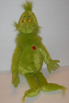 How the grinch stole christmas book and doll