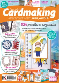 Complete Cardmaking 49 is available from http://www.moremags.com/papercrafts/complete-cardmaking/complete-cardmaking-203
