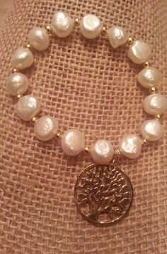 Tree of Life with Fresh water pearls from NY City