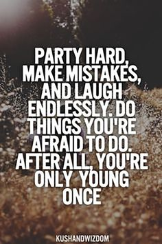 """Be a wild one 