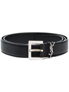 Shop designer belts for men at Farfetch from all your favorite brands including Gucci, Off-White, Versace and more. Find classic leather and logo belts. Ysl, Leather Belts, Calf Leather, Men's Belts, Yves Saint Laurent, Luxury Belts, Converse, Designer Belts, Leather Accessories