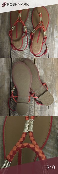 NEW Women's Sandals Brand new, never worn, perfect condition. New Directions Brand - Purchased at Belk. Women's size 10. new directions Shoes Sandals