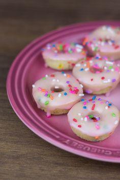 Objetivo: Cupcake Perfecto.: Mini donuts de limón y palomitas de frambuesa