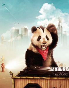 Panda love ^^