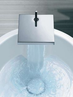 Hansgrohe Axor Starck X Single Post Waterfall Faucet (Polished Chrome ONLY)  10070001