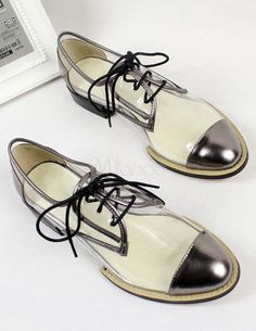 Transparent shoes! I have so many good socks that would love these1