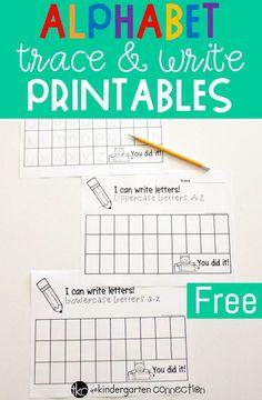 These free alphabet