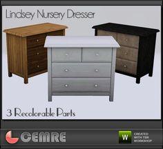 cemre's Lindsey Nursery Collection Dresser